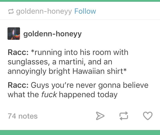 Raccooneggs Misfits Quotes Laugh A Lot Funny Character