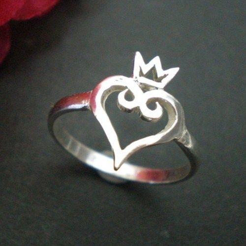 Kingdom of Heart Ring - Gamer Jewelry for Geek