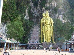 Batu Caves, a short trip just outside Kuala Lumpur, Malaysia