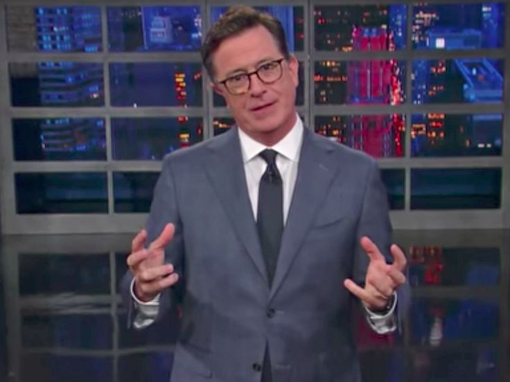 """Stephen Colbert made the Donald Trump Jr. scandal into a Bond movie plot - Stephen Colbert returned from his July 4th hiatus, and dove right back into the headlines of the day.  On Monday's show, the """"Late Show"""" host tacked the news that President Donald Trump's son, Donald Trump Jr., met with a lawyer named Natalia Veselnitskaya during the 2016 presidential election with the intent to obtain damning information about his father's opponent, Hillary Clinton.  """"You could knock me over with…"""