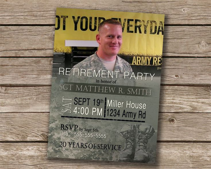 The 25+ best Military retirement parties ideas on Pinterest ...
