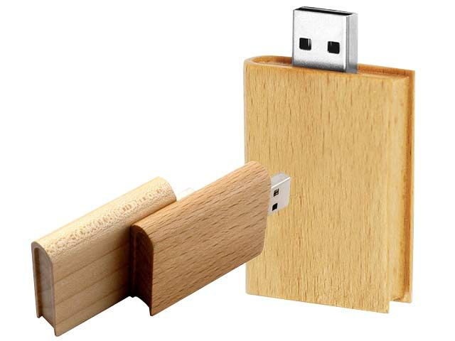 Book Shape Wood Usb at Eco Tech   Ignition Marketing Corporate Gifts