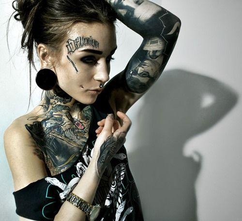 Cool Tattoo Model Monami Frost (4)