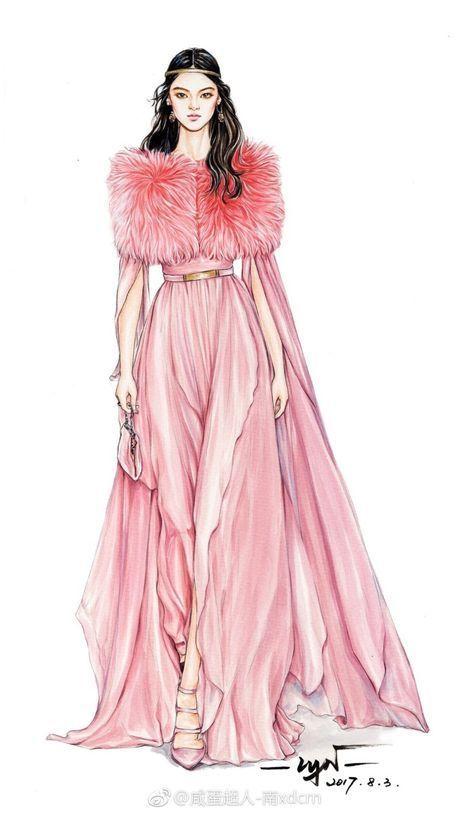 Modezeichnung | DIY || Modezeichnungen fürs Nähen in 2018