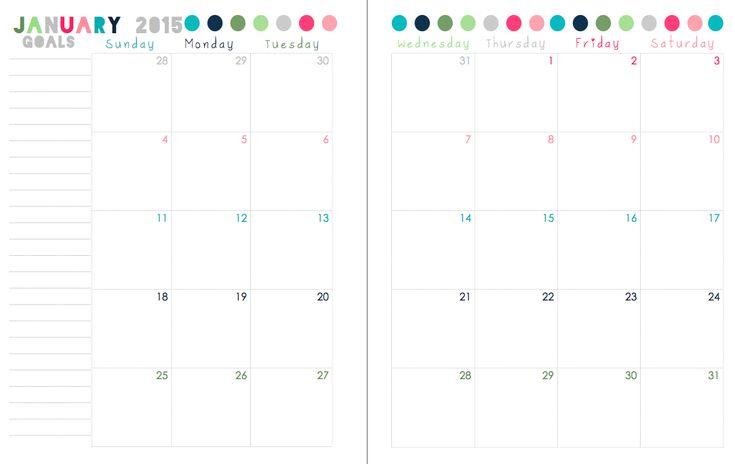 Last Year Calendar : Free printable calendar from sherbert café this is