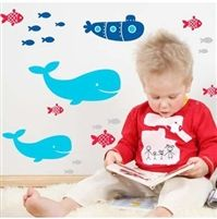 Modern lighting accessories for children's bedroom. Buy matching bedding set and stickers to decorate the room.