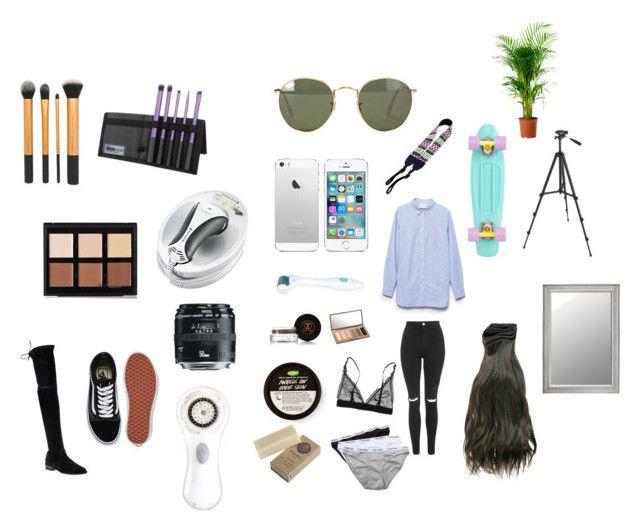 """""""wishlist"""" by marssysl on Polyvore featuring Stuart Weitzman, Anastasia Beverly Hills, Urban Decay, Vans, Ganni, Ora, Clarisonic, Calvin Klein Underwear, Remington and Topshop"""