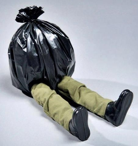 Mini trasher by Mark Jenkins