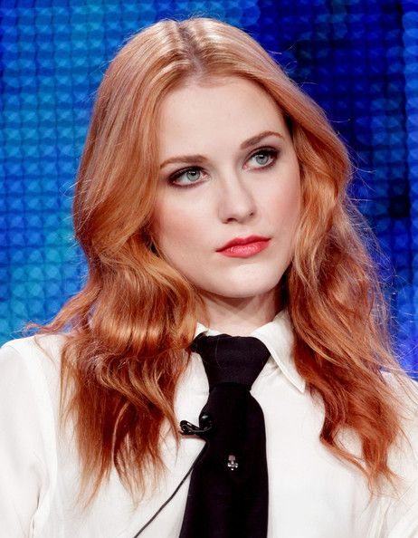 Strawberry blonde Evan Rachel Wood