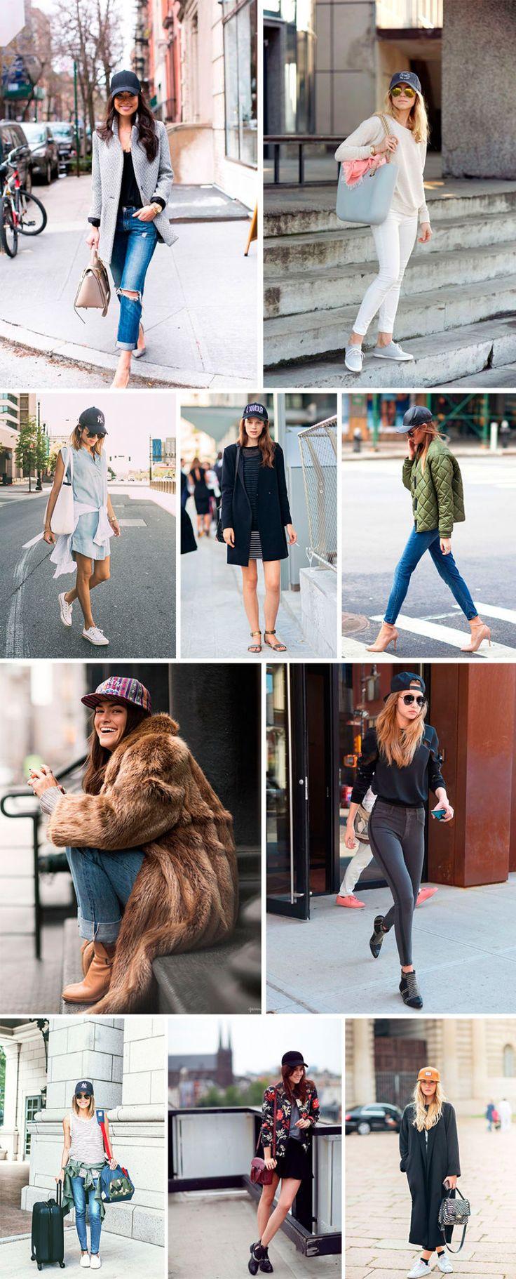 A nova tendência fashion é o boné como acessório da vez. Fashionistas mundo a fora mostram como usar em seus looks de street style.
