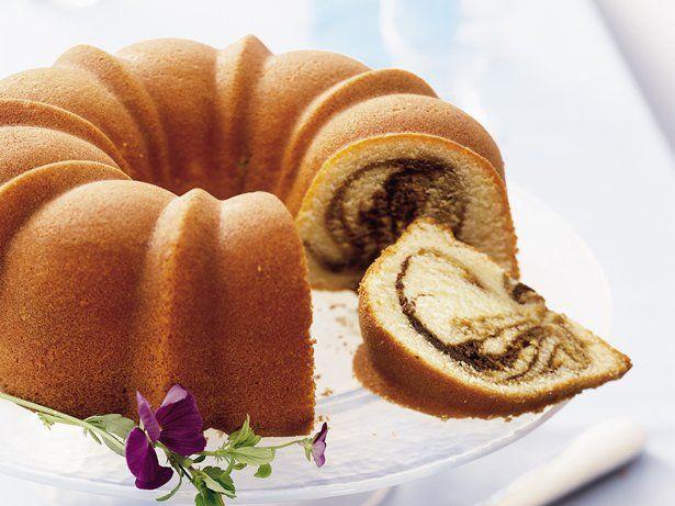 Kick back and enjoy a cup of joe alongside a slice of moist, coffee-swirled coffee cake.