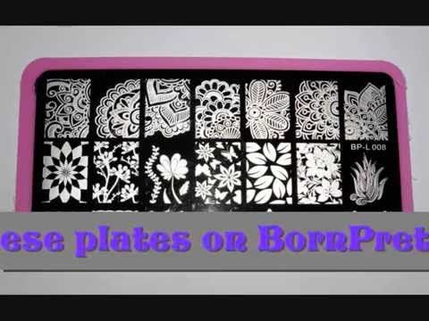 Born Pretty BP Rectangular Plates Review :)  You can find more info and the link where to buy these plates here ...10% Off code: ABYW10 http://nailartstampingmania.blogspot.it/2015/04/born-pretty-bp-rectangular-plates-review.html