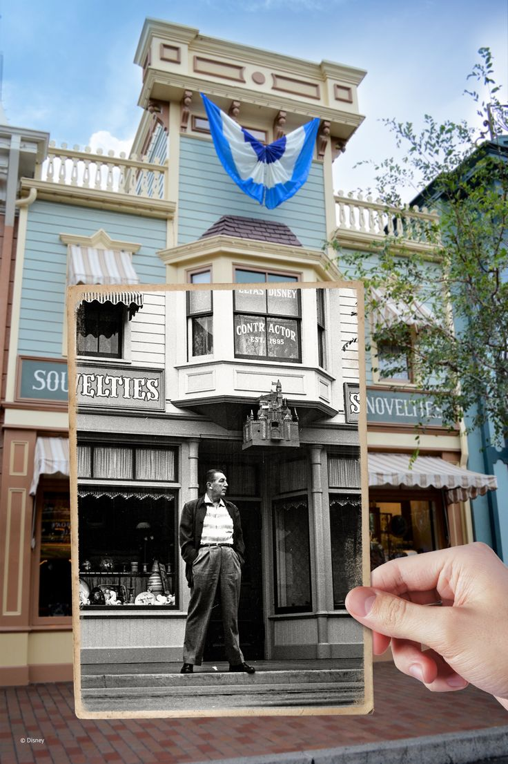 """""""Well, it took many years. I started with many ideas, threw them away, started all over again. And eventually it evolved into what you see today at Disneyland."""" - Walt Disney"""