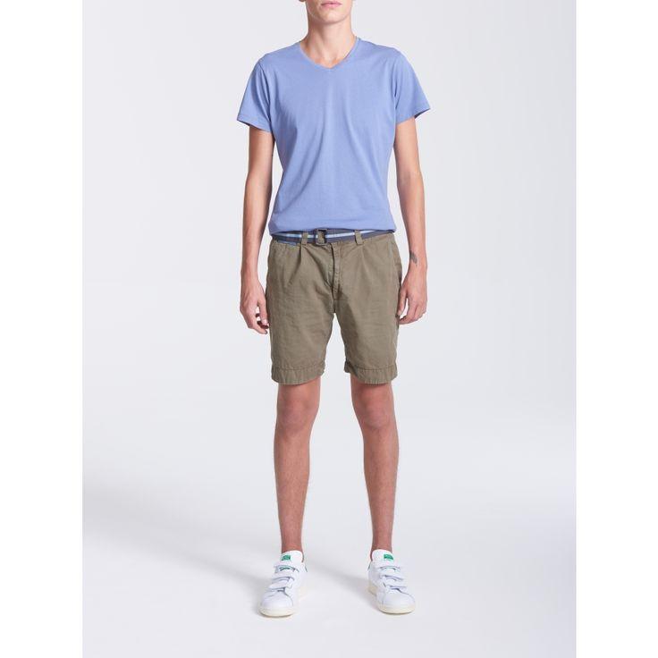 V-Neck BlueWash T-shirt - Men