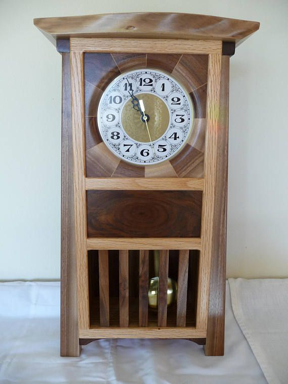 Craftsman Style Mantle Clock
