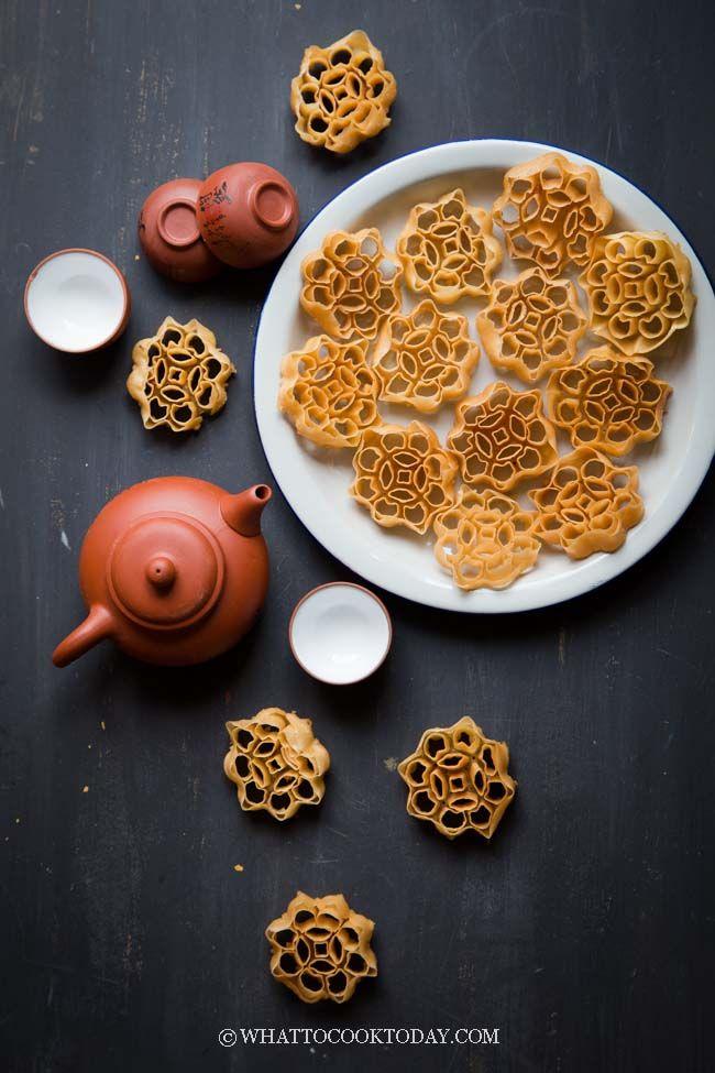 Kue Kembang Goyang Kuih Loyang Honeycomb Cookies Delicious Cookie Recipes Yummy Cookies Food