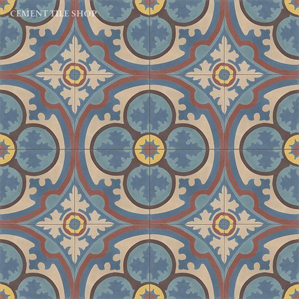 Cement Tile Shop - Handmade Cement Tile | Philadelphia Blue