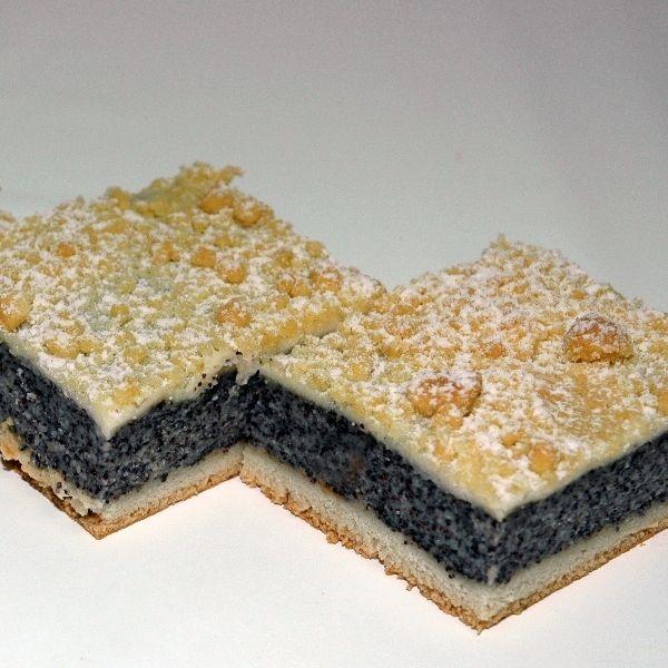 Blaumohn in kuchen