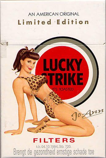 Lucky Strike Filters Jo-Ann 20NL1997