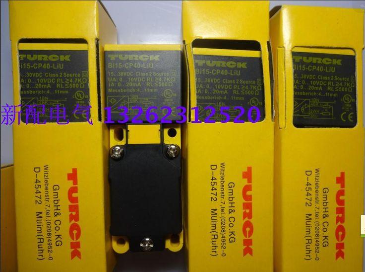 Proximity Switch BI15-CP40-LIU Turck 100 New High-Quality Sensor Warranty For Two Year
