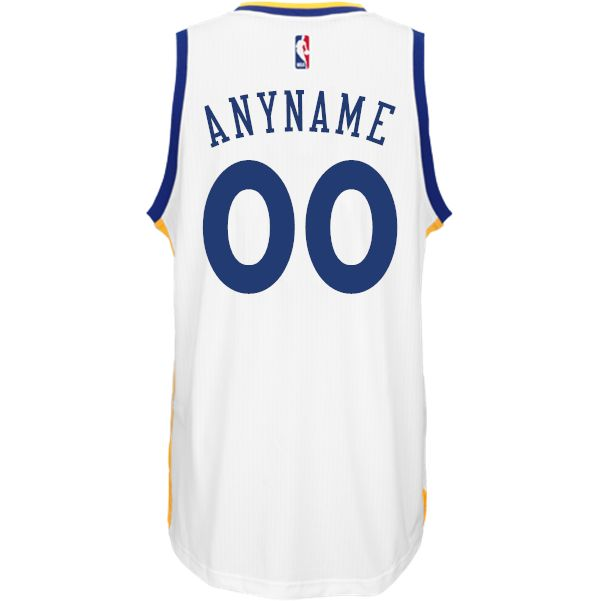 Custom Home Jersey: adidas White Swingman Golden State Warriors NBA Jersey - Golden State Warriors - Official Online Store