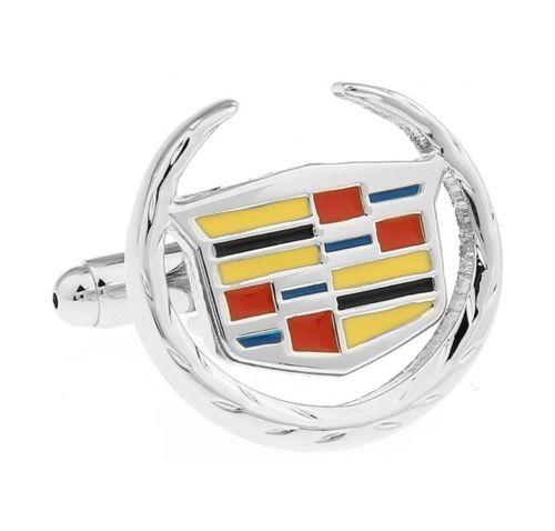 Mens-Car-Badge-Logo-Cufflinks-Shirt-Enamel-Wedding-Business-Birthday-Cuff-links