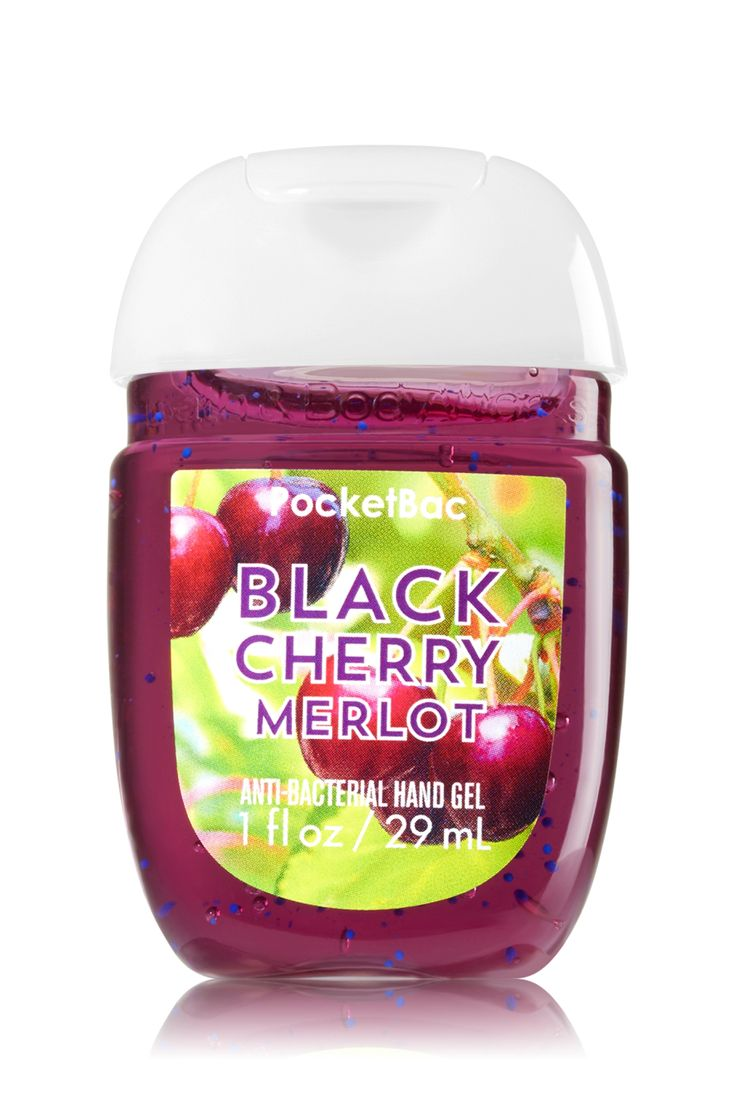 Black Cherry Merlot PocketBac Sanitizing Hand Gel - Soap/Sanitizer - Bath & Body Works