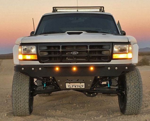 Prerunner Front Bumper With Abs Valance Ford Bronco F150 Solo Motorsports Ford Bronco Bronco Ford