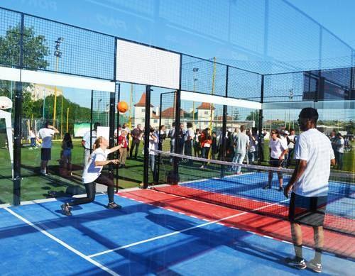 Sports Partner com Campo de Padbol e Pavimento PATMOS nos Olivais em Lisboa Saiba mais em: http://www.sportspartner.pt/?c=11&n=1368 #Padbol #Lisboa #PATMOS