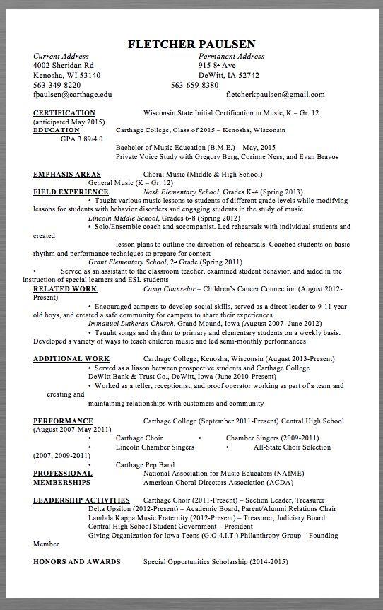 Resume Academic Advisor Vosvetenet – Summer Camp Counselor Resume
