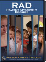Children with Reactive attachment disorder (RAD) struggle to socially connect or attach to others in interpersonal relationships.  These children perceive the world as threatening from a neurological, physical, emotional, cognitive, and social perspective. These children operate from a paradigm of fear to ensure their safety and security. a child with RAD is essentially a scared and stressed child living out of a primal survival mode in order to maintain his existence.