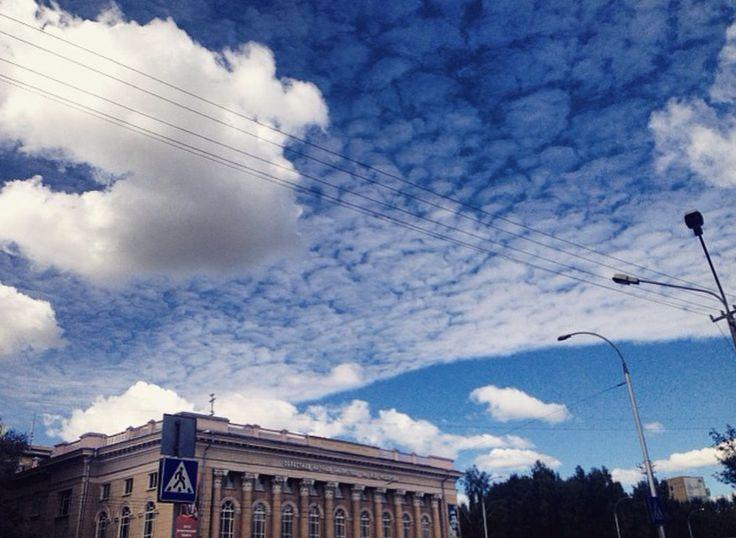 Blue sky in my head ☁️