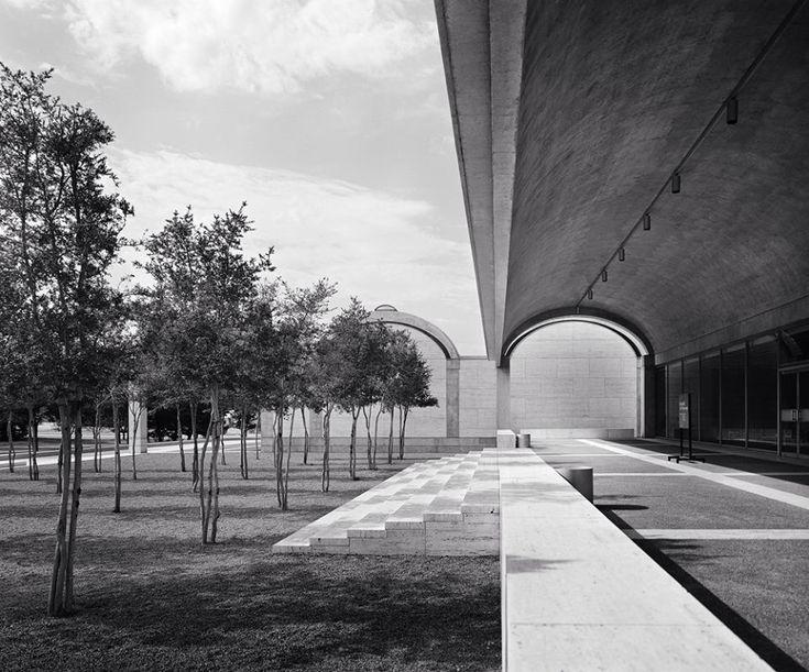 Museo de arte kimbell situado en fort worth texas ee for Louis kahn buildings