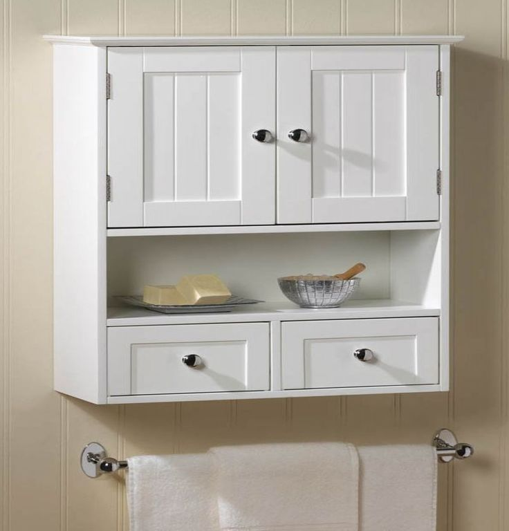 nantucket white wood wall mount cabinet bathroom storage on wall cabinets id=36388
