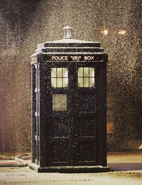 yes, i would trade sleigh bells for tardis squeals