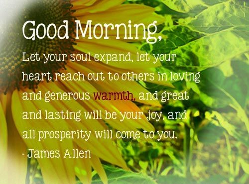 132 Inspirational Good Morning Quotes With Beautiful