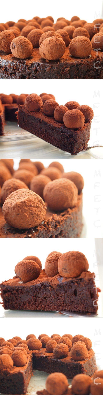Tarta trufada de chocolate y coca-cola / http://mifogonentucocina.blogspot.com.es/