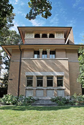 the heller house frank lloyd wright