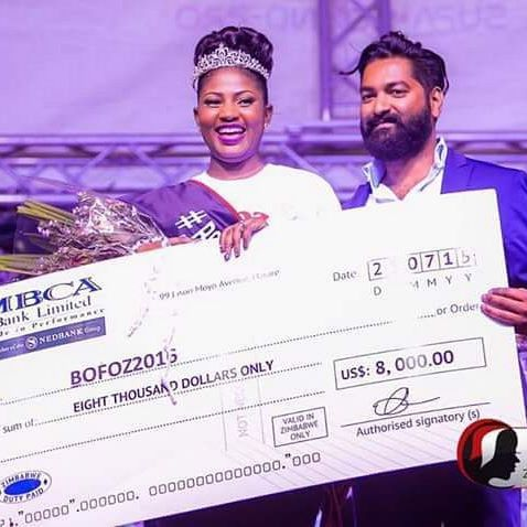 MEET Hazvineyi: BOFOZ Queen Hazvineyi Chiota Rukande's official Prize Giving Ceremony will be held at Edgars Stanley House (cnr 1st Street & Jason Moyo) on Saturday 25th March from 10am.   ENTER BOFOZ: buy one Black Opal eye product ON THE DAY, and you can get a FREE MAKEOVER and photograph for your #BOFOZ2017 entry!