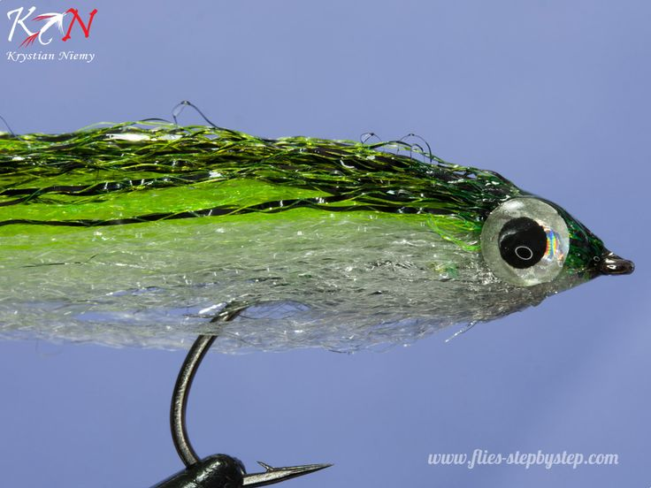 Lesser Sand Eel - saltwater fly - How to tie fly, Fly tying Step by Step Patterns & Tutorials