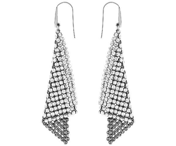 The Fit pierced earrings will add a soft feel of fluidity to your look. This pair of rhodium-plated pierced earrings will turn heads with the twinkle ... Shop now