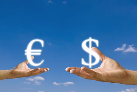 A currency swap is a transaction where deal where two entities agree to exchange two fixed rate interest payments