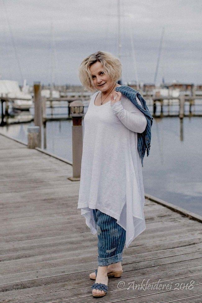 c049b93f1371 Ewa i Walla Hose Pin Striped 11295 SS18   Ankleiderei   Online-Shop für  skandinavische   französische Mode