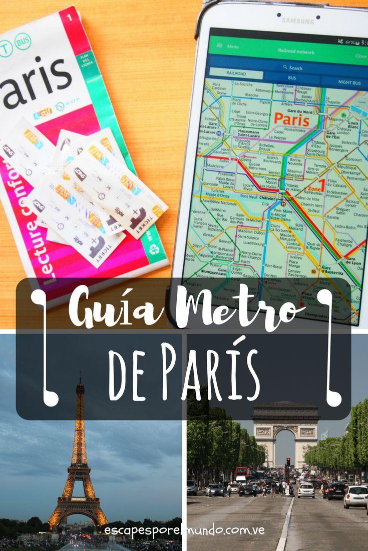 Paris en Metro, recorre la ciudad de la luz. Travel destination, travel tips