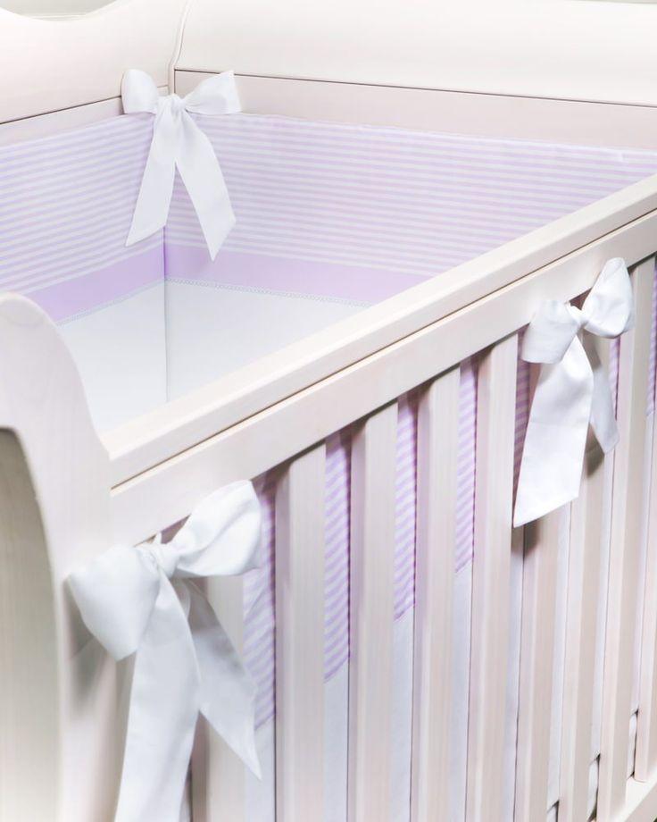 Бортик в кроватку Ballet Print Lilla.