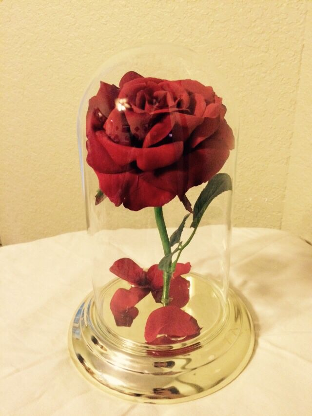 DIY Enchanted Rose From Beauty And The Beast. Made From Old Clock From  Thrift Store. Garden RidgeEnchanted RoseOld ...