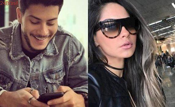 Novo casal: Arthur Aguiar e Mayra Cardi estão namorando