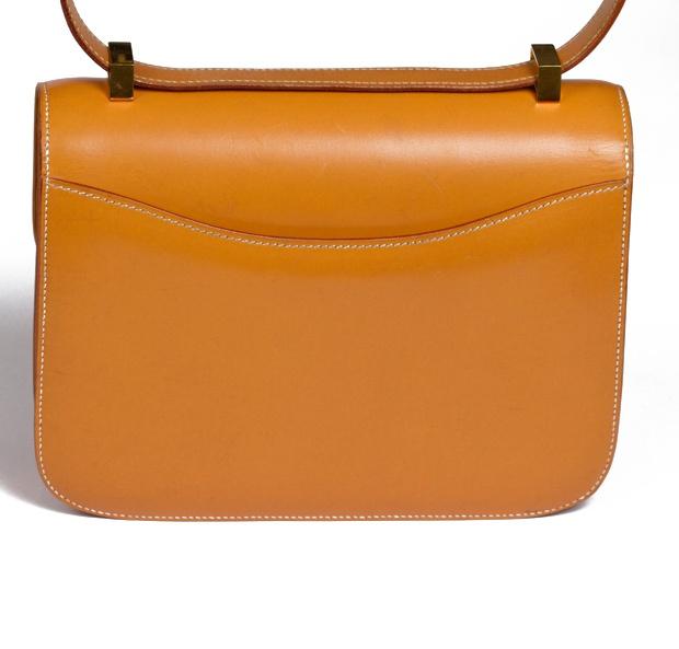 Hermès 1976 Tan Constance Bag