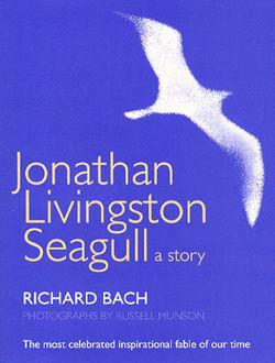 Jonathon Livingston Seagull - Richard Bach.  A simple and short story written by someone with a deep love of aviation. It's underlining and resonant message is you can do whatever you want, despite what others say. In this respect it is very inspiring.
