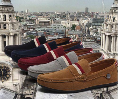 Nueva-Moda-Inglaterra-Para-Hombre-transpirable-deporte-recreativo-Flats-Zapatos-Casuales